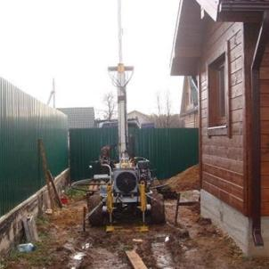монтаж скважин на воду